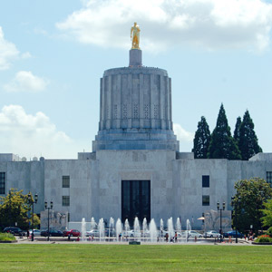 Oregon State Capitol Building Salem