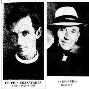 Father Pius Brazauskas