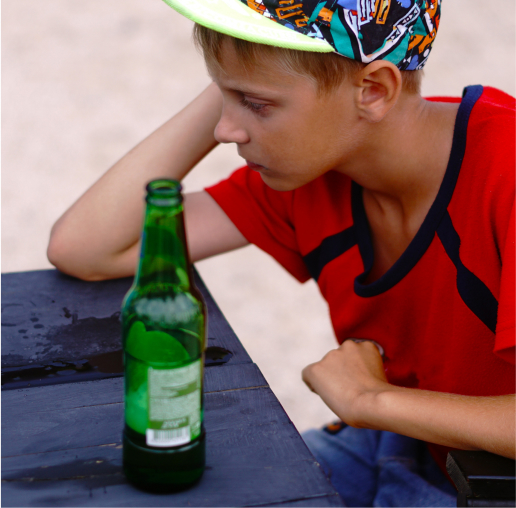 boy scout drinking alcohol